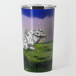 I Believe In Gruff Travel Mug