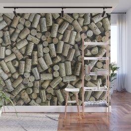 Wine Corks Wall Mural