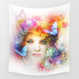 Psukhê souffle de l'âme Wall Tapestry