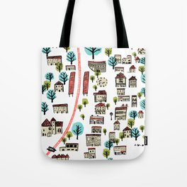 Narberth Surrounded Tote Bag