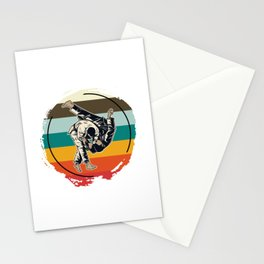 Sparring Athletes Stationery Cards