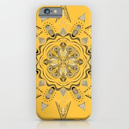 Mandala Three iPhone Case