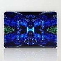 malachite iPad Cases featuring Azurite - Malachite by Lucia