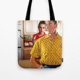 Ask Me What's For Dinner One More Time Tote Bag