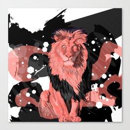 Lion Coral Canvas Print