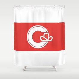 Flag of Calgary Shower Curtain