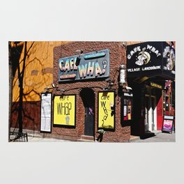 Cafe Wha? Greenwich Village NYC Rug