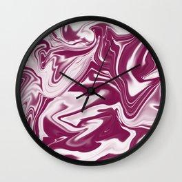 """ABSTRACT LIQUIDS XLVI """"46"""" Wall Clock"""