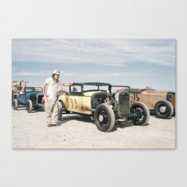 The Race of Gentlemen 20 Canvas Print