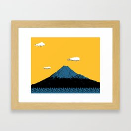 MT. FUJI Framed Art Print