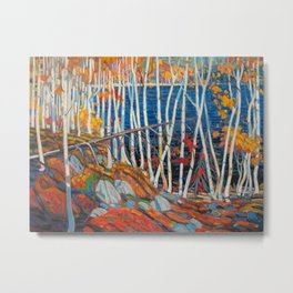 In The Northland (Group Of Seven) by Tom Thomson Canadian Landscape Art Metal Print