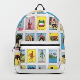 Mexican Loteria Card Tarot Card Game Design Spanish Backpack