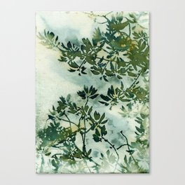 Wallpaper Foliage Canvas Print
