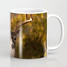 Geometric Deer Coffee Mug