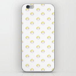 Puffer dots iPhone Skin