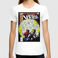 verse T-shirts featuring Days of Spider Verse by Chance L