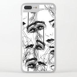 oooooo Clear iPhone Case
