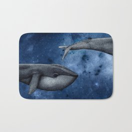 The Whale Who Met  Itself. Bath Mat