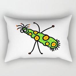 Virus Doodle Rectangular Pillow