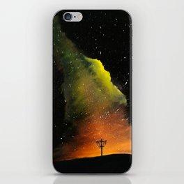 Orange Horizons Discing iPhone Skin