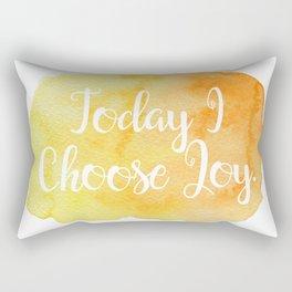 Today I Choose Joy. Rectangular Pillow