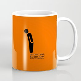 Sunscreen / Do one thing that scares you Coffee Mug