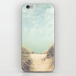 The Way To The Beach iPhone Skin