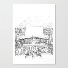 Steamwriter! Canvas Print