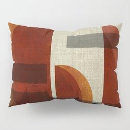"""""""Abstract Ships at Sunset"""" Pillow Sham"""
