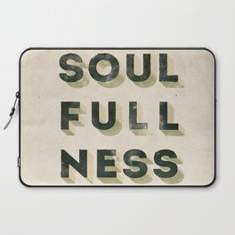 Soulfullness Laptop Sleeve