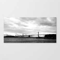 market view Canvas Print