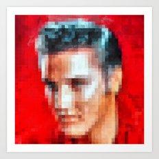 Elvis still alive ? Art Print