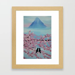 love in japan Framed Art Print
