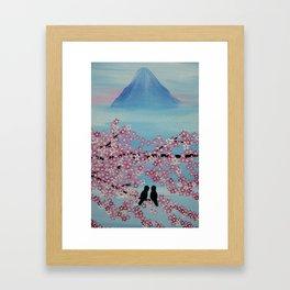 love in japan Framed Art Print