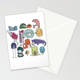 Monster Munch Stationery Cards