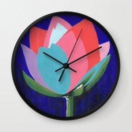 Flashy Flower Wall Clock