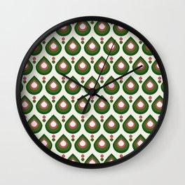 Drops Retro Confete Wall Clock