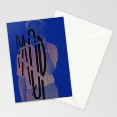 stepping razor Stationery Cards