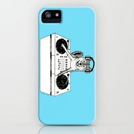 Shiba Inu Dog DJ-ing iPhone Case