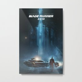 Blade Runner 2068 Metal Print