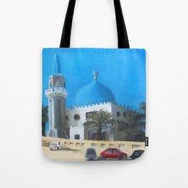 Al-Dahmany Mosque Tote Bag