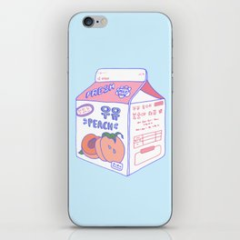 Peach Milk iPhone Skin