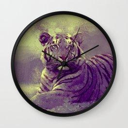 Tiger II Wall Clock