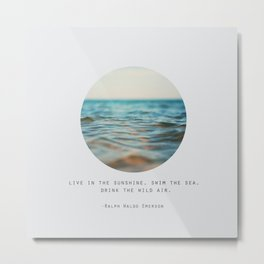 Swim The Sea #2 Metal Print