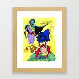 45 Framed Art Print