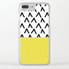 pattern 005 Clear iPhone Case