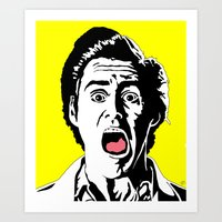 ace Art Prints featuring Ace by Gary Barling
