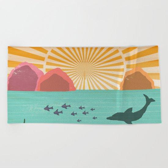 Ocean View Beach Towel
