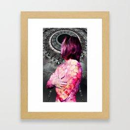 REBIRTH OF VENUS 2017 BW Framed Art Print