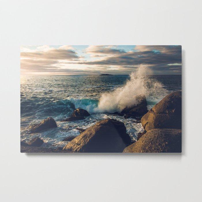 Perfect Wavebreak Metal Print